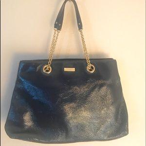 Beautiful navy Kate spade large handbag purse NWOT